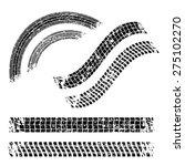 tires design over white...   Shutterstock .eps vector #275102270