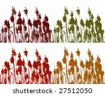 reed in four colors | Shutterstock .eps vector #27512050
