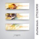 business design templates. set... | Shutterstock .eps vector #275126930