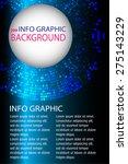 dark blue light abstract...   Shutterstock .eps vector #275143229
