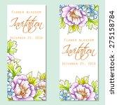 flower blossom. romantic...   Shutterstock .eps vector #275158784