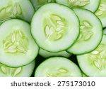 Fresh Cucumber Slices ...
