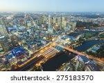 View Of Modern Buildings In...