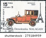 malagasy   circa 1984  stamp... | Shutterstock . vector #275184959