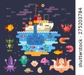Ocean Underwater Life  Sea...