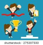 vector cartoon illustration  ... | Shutterstock .eps vector #275207333