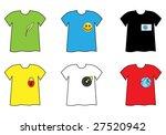 t shirt set. vector | Shutterstock .eps vector #27520942