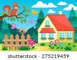 Garden And House Theme...