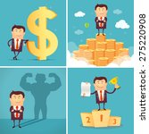 set of businessman characters... | Shutterstock .eps vector #275220908