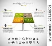vector illustration of ecology... | Shutterstock .eps vector #275230706