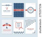 set of six vector banner... | Shutterstock .eps vector #275237156