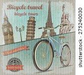 Bicycle Tour Poster.