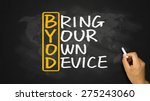 byod concept bring your own... | Shutterstock . vector #275243060