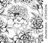seamless botanical floral...   Shutterstock .eps vector #275243246