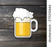 vector illustration for pint of ... | Shutterstock .eps vector #275243666