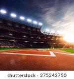 professional baseball grand... | Shutterstock . vector #275243750