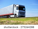truck on the road | Shutterstock . vector #275264288