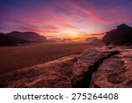 jordan  aqaba  aqaba  wadi rum | Shutterstock . vector #275264408