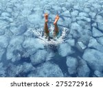 cool down and cooling off... | Shutterstock . vector #275272916