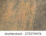 texture sheet metal stains and... | Shutterstock . vector #275274476