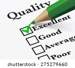 quality control survey business ... | Shutterstock .eps vector #275279660