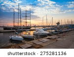 Sailing Ships And Yachts Stand...