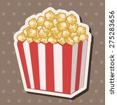 pop corn theme elements | Shutterstock .eps vector #275283656