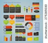 big set of infographics... | Shutterstock .eps vector #275285030