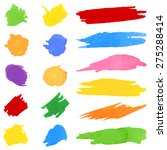 vector illustration of set of... | Shutterstock .eps vector #275288414