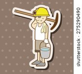people character theme elements | Shutterstock .eps vector #275290490