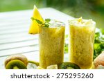 Smoothies Of Kiwi And Pineapple ...