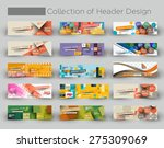 mega collection modern... | Shutterstock .eps vector #275309069