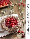 organic cranberries as the... | Shutterstock . vector #275318519