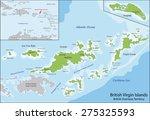 the virgin islands commonly... | Shutterstock .eps vector #275325593