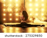 pole dancing | Shutterstock . vector #275329850