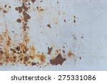 rust texture as metal plate... | Shutterstock . vector #275331086