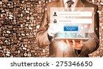 login and password | Shutterstock . vector #275346650