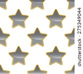grey star with gold outlining... | Shutterstock .eps vector #275349044