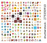 biggest collection of vector... | Shutterstock .eps vector #275350910