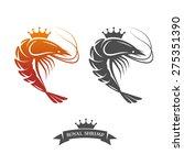 royal shrimp sign | Shutterstock .eps vector #275351390