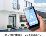 smart house  home automation ... | Shutterstock . vector #275366840