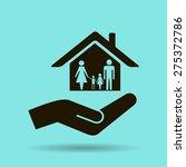 house vector icon | Shutterstock .eps vector #275372786