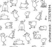 sheep | Shutterstock . vector #275378594