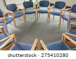 chairs in a circle | Shutterstock . vector #275410280