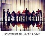 meeting seminar conference... | Shutterstock . vector #275417324