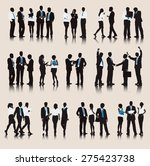 business people team connection ... | Shutterstock .eps vector #275423738