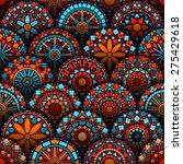 Colorful Circle Flower Mandala...