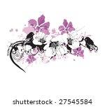 illustration of a floral... | Shutterstock .eps vector #27545584