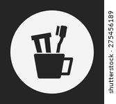 toothbrush icon | Shutterstock .eps vector #275456189
