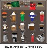 coffee shop | Shutterstock .eps vector #275456510
